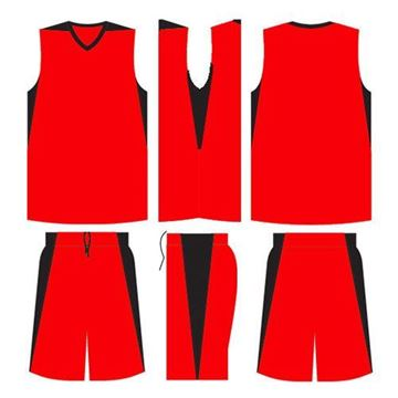 Picture of Basketball Kit Style 523 Blank