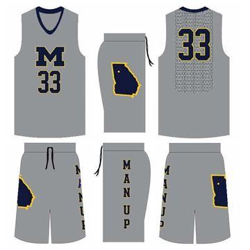 Picture of Basketball Kit MNU 522 Custom