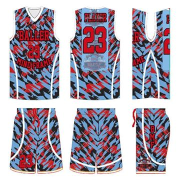 Picture of Basketball Kit Style 548 Custom