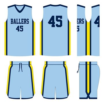 Picture of Basketball Kit Style 512 Custom