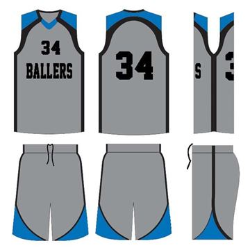 Picture of Basketball Kit Style 527 Custom