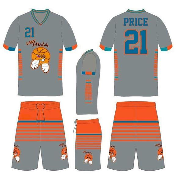 reputable site 1721a 7d8c6 Picture of Basketball Kit HAR 5516 Custom